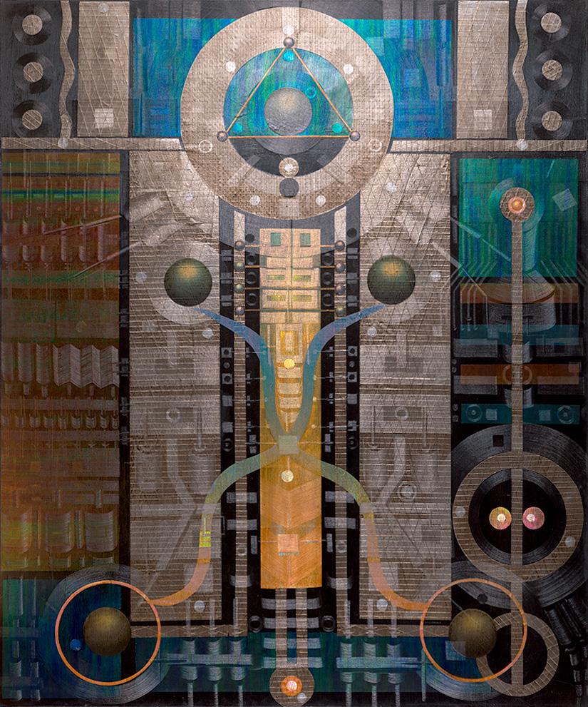 """Lumeniferous 72"""" x 60"""" oil on canvas"""